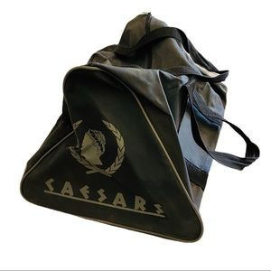 Vintage 80s Caesars Palace Vegas duffel travel bag